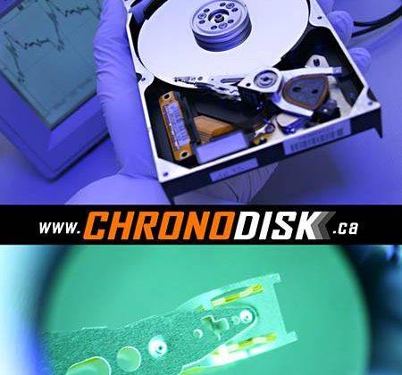 Chronodisk récupération de données