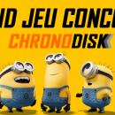 Les Minions chronodisk récupération de données